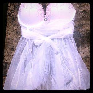Victoria's Secret 36D Bridal Babydoll Lingerie